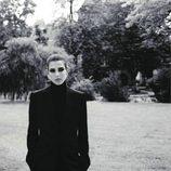 Carlota Casiraghi con traje de chaqueta para Vogue Francia