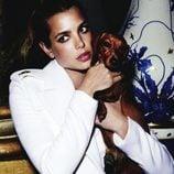 Carlota Casiraghi de blanco para Vogue Francia