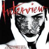 Anne Hathaway, portada de Interview en septiembre de 2011