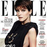 Carmen Kass, portada de Elle España en septiembre de 2011