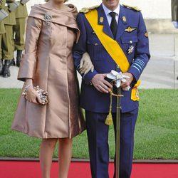 Los looks de las invitadas a la boda de Guillermo y Stéphanie de Luxemburgo
