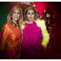 Carmen Lomana junto a Ágatha Ruiz de la Prada