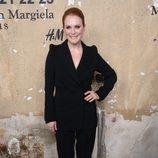 Julianne Moore en la presentación de la colección de Maison Martin Margiela y H&M en Nueva York