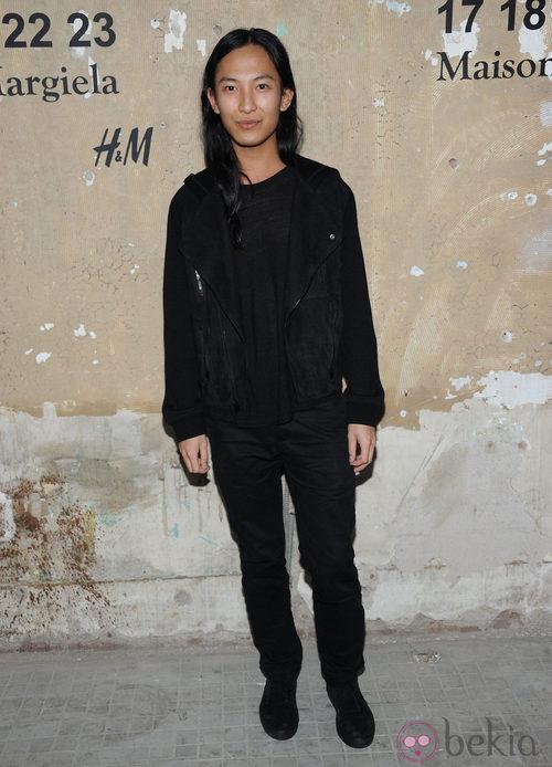 Alexander Wang en la presentación de la colección de Maison Martin Margiela y H&M en Nueva York