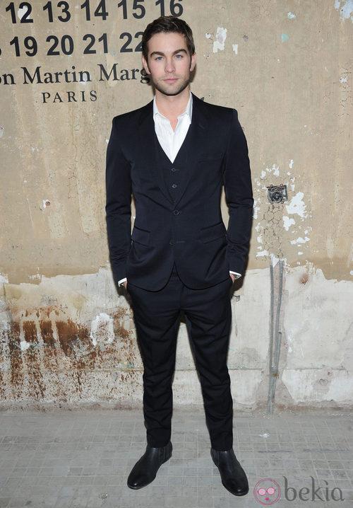 Chace Crawford en la presentación de la colección de Maison Martin Margiela y H&M en Nueva York