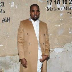 Kanye West en la presentación de la colección de Maison Martin Margiela y H&M en Nueva York