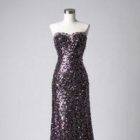 Vestido de paillettes con escote corazón de la colección de vestidos de Barbarella