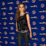 Ana Fernández con un perfecto look rockero
