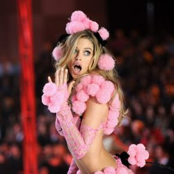 Doutzen Kroes durante el Fashion Show 2012 de Victoria's Secret