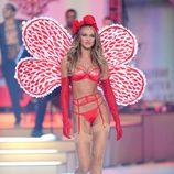 Candice Swanepoel en el Fashion Show de Victoria's Secret 2012