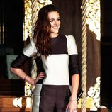 Kristen Stewart con un diseño de Louis Vuitton en la promoción de 'Amanecer. Parte 2' en Tokyo