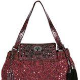 Bolso rojo con paillettes de la colección otoño/invierno 2012/2013 de Loeds