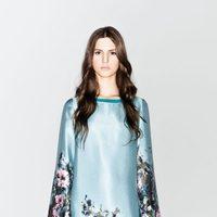 Vestido con estampado oriental de la nueva colección de Sisley otoño/invierno 2012/2013