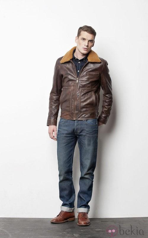 Lee apuesta por el cuero en su colección masculina de este otoño/invierno 2012/2013