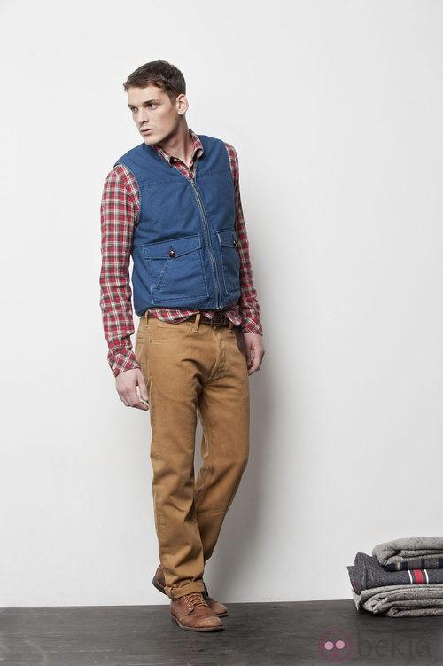 Lee incluye el chaleco en su colección otoño/invierno 2012/2013 para hombre