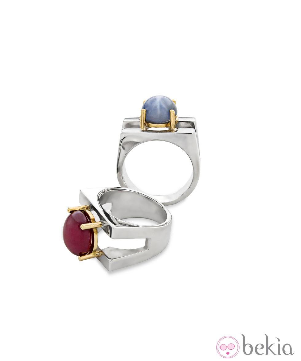 Anillos de la nueva colección de joyas de Victor Caparrós