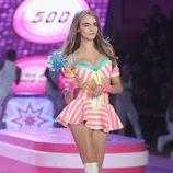 Cara Delevingne durante el desfile de Victoria's Secret