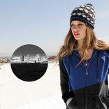 Sudadera negra y azul y gorro de Volcom 'Core' otoño/invierno 2012/2013