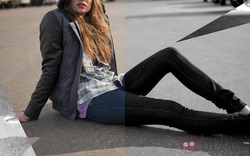Camisa de cuadros, sudadera y jeans de Volcom 'Core' otoño/invierno 2012/2013