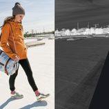 Trenca naranja y workbag de Volcom 'Core' otoño/invierno 2012/2013