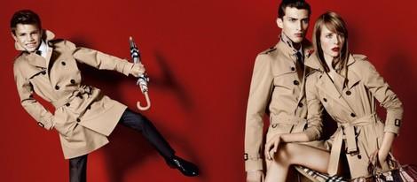 Romeo Beckham, imagen de la colección primavera/verano 2013 de Burberry