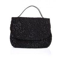 Bolso negro de Castañer para la colección Otoño-Invierno 2012
