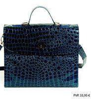 Bandolera azul de Tantrend para la colección Otoño-Invierno 2012/2013