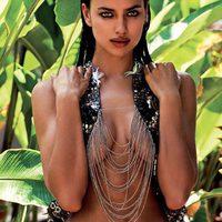Irina Shayk posa muy sexy con la colección 2013 de Agua Bendita
