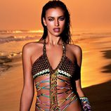 Irina Shayk con un trikini de la colección 2013 de Agua Bendita