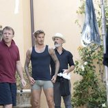 Guy Ritchie dirigiendo el spot de la colección David Beckham Bodywear at H&M