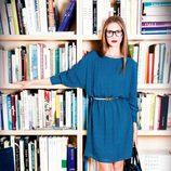 Vestido azul de la colección otoño/invierno 2012/2013 de Dolores Promesas