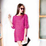 Vestido fucsia de la colección otoño/invierno 2012/2013 de Dolores Promesas
