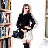 Look de la colección otoño/invierno 2012/2013 de Dolores Promesas