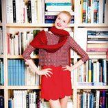 Look en rojo de la colección otoño/invierno 2012/2013 de Dolores Promesas