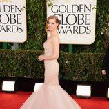 Amy Adams con un vestido de Marchesa en los Globos de Oro 2013