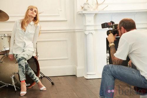 Georgia May Jagger, imagen de la colección Rock'N'Roll Mansion de H&M