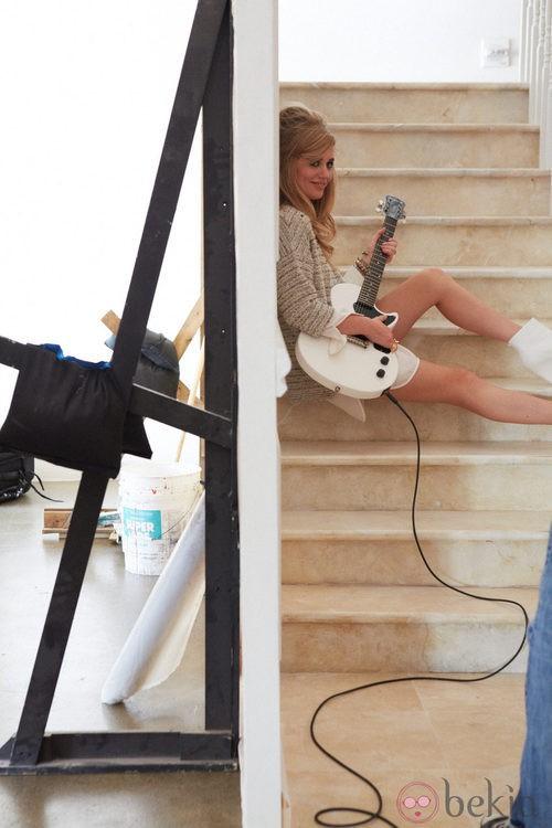 Georgia May Jagger une moda y música en la colección Rock'N'Roll Mansion de H&M