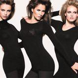 Vestido negro de la colección 'Pin Up Sense' de Bennetton para verano 2013
