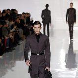 Cinturones en la colección otoño/invierno 2013/2014 de Dior en la Semana de la Moda Masculina de París