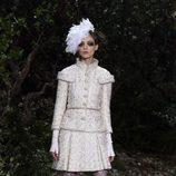 Botas de caña alta de la colección primavera/verano 2013 de Chanel en la Semana de la Alta Costura de París