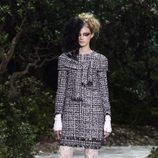 Vestido en tweed de la colección primavera/verano 2013 de Chanel en la Semana de la Alta Costura de París