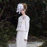 Faldas a media pierna en la colección primavera/verano 2013 de Chanel en la Semana de la Alta Costura de París