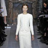 Traje de la colección primavera/verano 2013 de Valentino en la Semana de la Alta Costura de París