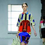 Vestido de la colección primavera/verano 2013 de Longchamp