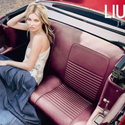 Kate Moss, imagen de la colección primavera/verano 2013 de Liu Jo
