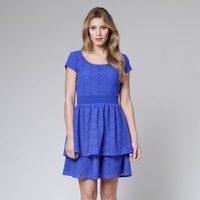 Vestido azul klein crochet de la colección primavera/verano 2013 de Poète