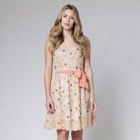 Vestido de estampado de lunares de la colección primavera/verano 2013 de Poète