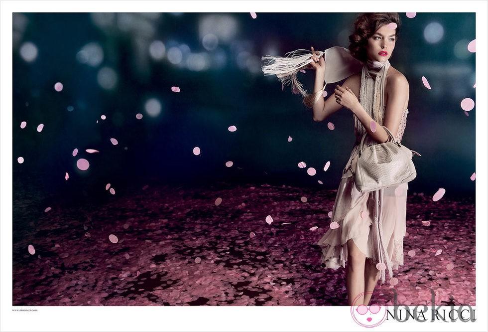 Arizona Muse, imagen de la colección primavera/verano 2013 de Nina Ricci