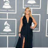 Miranda Lambert con un vestido de Roberto Cavalli en los Grammy 2013