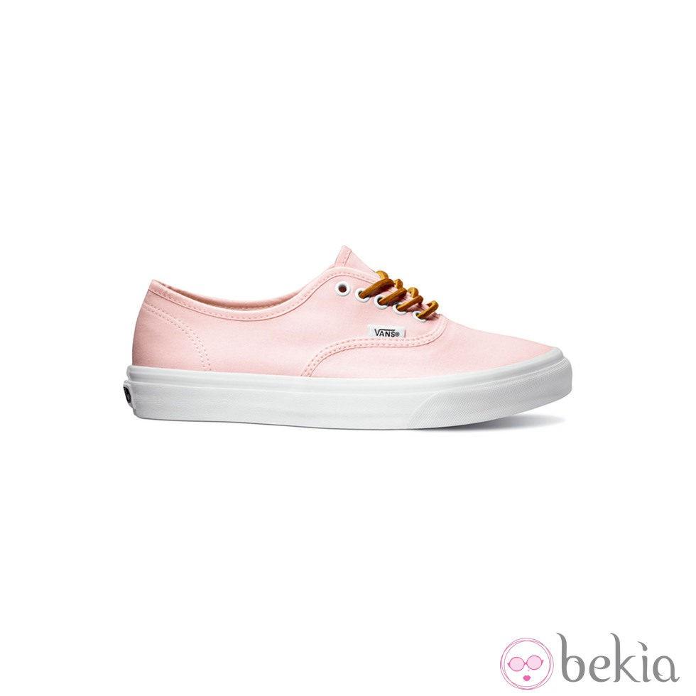 zapatillas vans rosadas